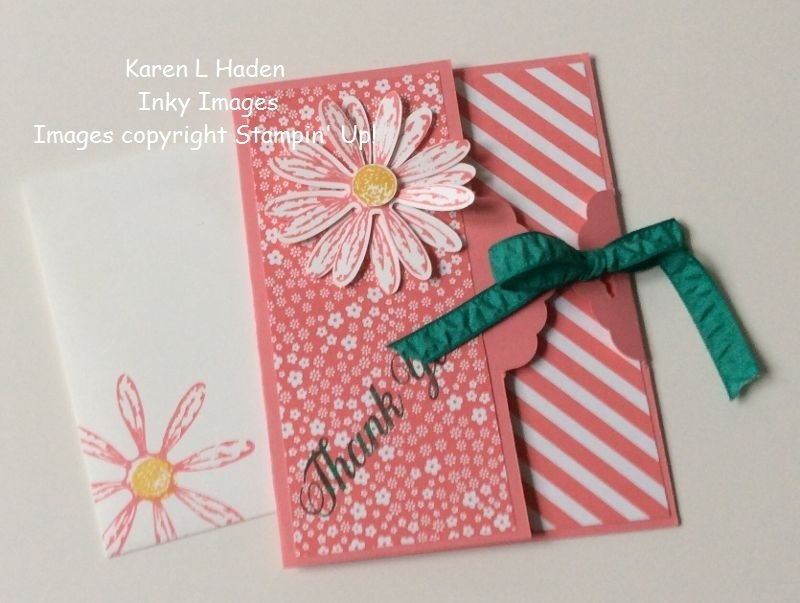 Scallop tag topper punch card closed
