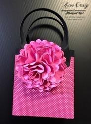 Finished mini bag with embellishment   1