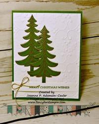 Santa s sleigh christmas trees