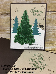 167a stampin  up  bundles carols of christmas and ready for christmas