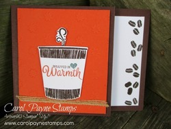 Stampin up coffee cafe carolpaynestamps1