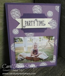 Stampin up happy birthday gorgeous carolpaynestamps3