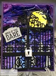 Graveyard gate