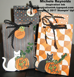 Seasonal chums sweet cat bags