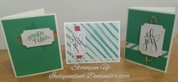 Watercolor cards 1