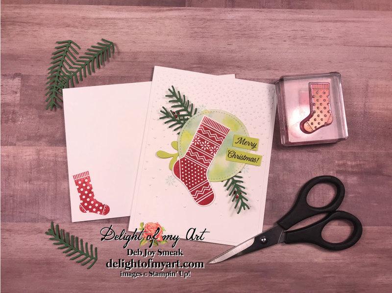 Watercolor stockings web