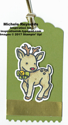 Seasonal chums blended reindeer watermark