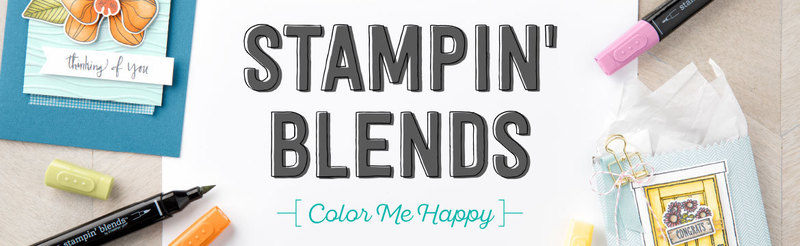 Stampin blends techniques