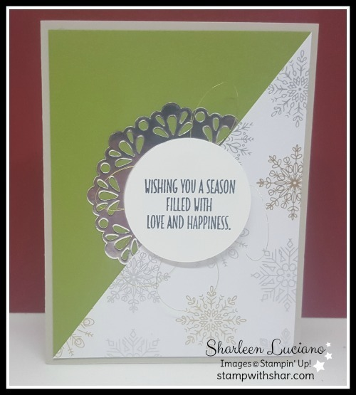 Year of cheer old olive christams card