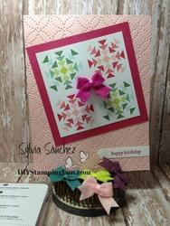 Quilt birthday card 2