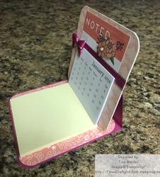 Easel calendar note2