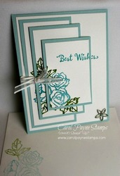 Stampin up petal palette triple time carolpaynestamps1
