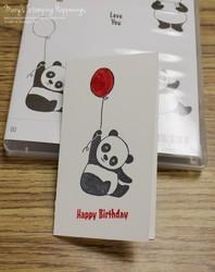 Party_panda_narrow_note_card_birthday_1a