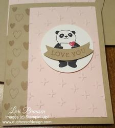 Playful panda lb card wm