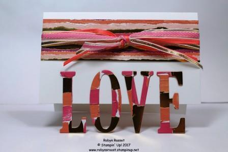 Stampin  up  love letters