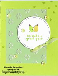Fruit basket vellum pear pair watermark