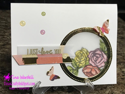 Vellum window card