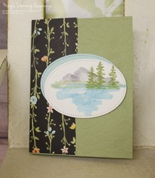 Waterfront oval layer card 1a