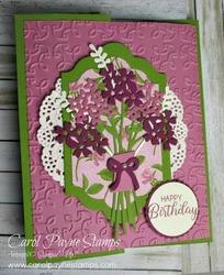 Stampin up beautiful bouquet carolpaynestamps1
