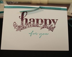 Happy wishes note card 1a