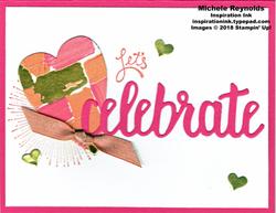 Amazing you celebrate heart watermark