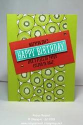 Tutti fruity birthday tall