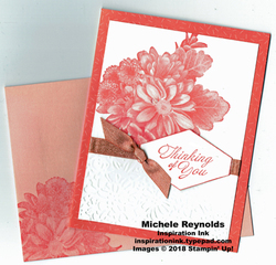 Heartfelt blooms tutti frutti flower watermark