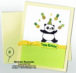 Party pandas tutti frutti juggling watermark