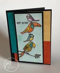 Bird banter card