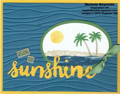 Waterfront sunshine wishes watermark