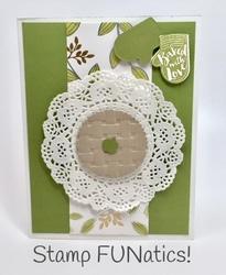 Pie card