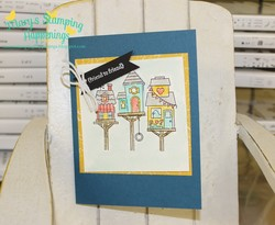 March flying home stampin  up  sample