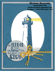 High tide light by your side watermark