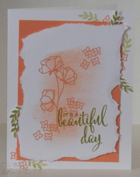 Share what you love torn paper