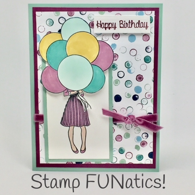 Hostess set birthday card 2018