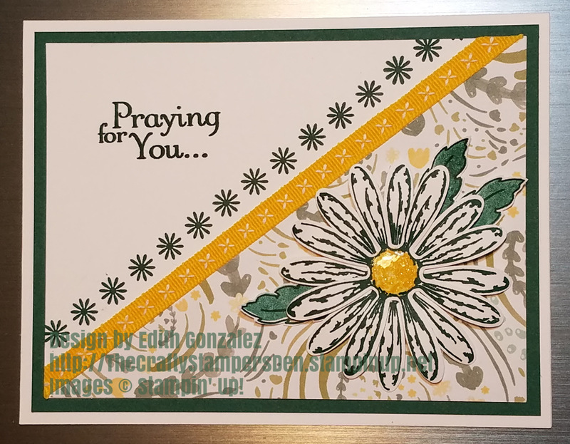 Daisy delight praying for you card may2018