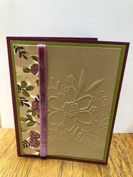 Share what you love embossed