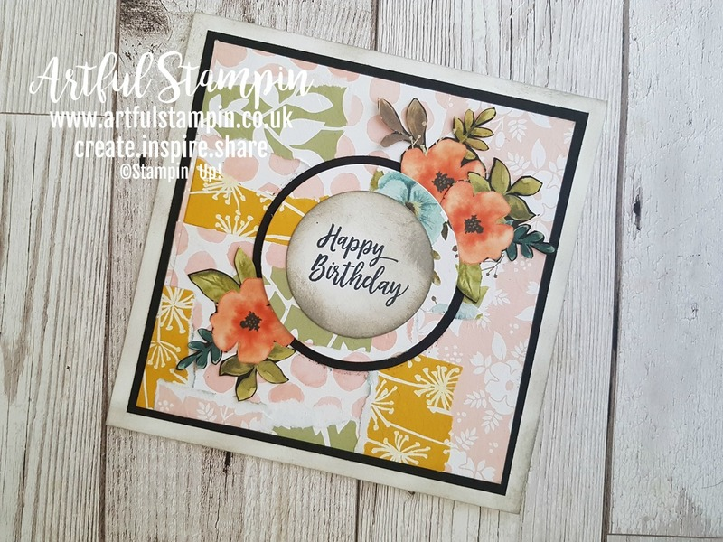 Artful stampin up one sheet wonder square card making scraps shop online products uk blog 3