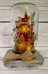 Mason jar terrarium 2