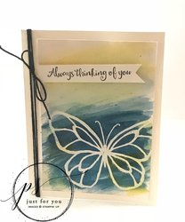 Always thinking of you card