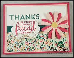 Notes of kindness daisy card