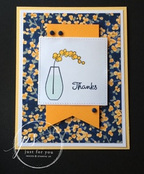 Simply thanks card