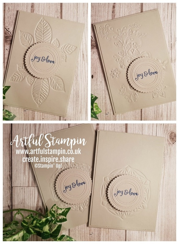 Artful stampin up uk christmas challenge stampathon 2018 texture youtube