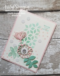 Artful stampin up uk oh so eclectic layers sizzix dies card making easy youtube