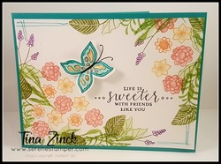 Pop of petals stampin up tina zinck