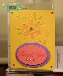 Daisy delight thank you 3  in 1 card stepped up plus 1a