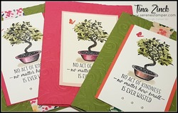 All the good things stampin tina zinck