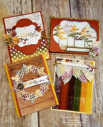Fall spectrum pad cards
