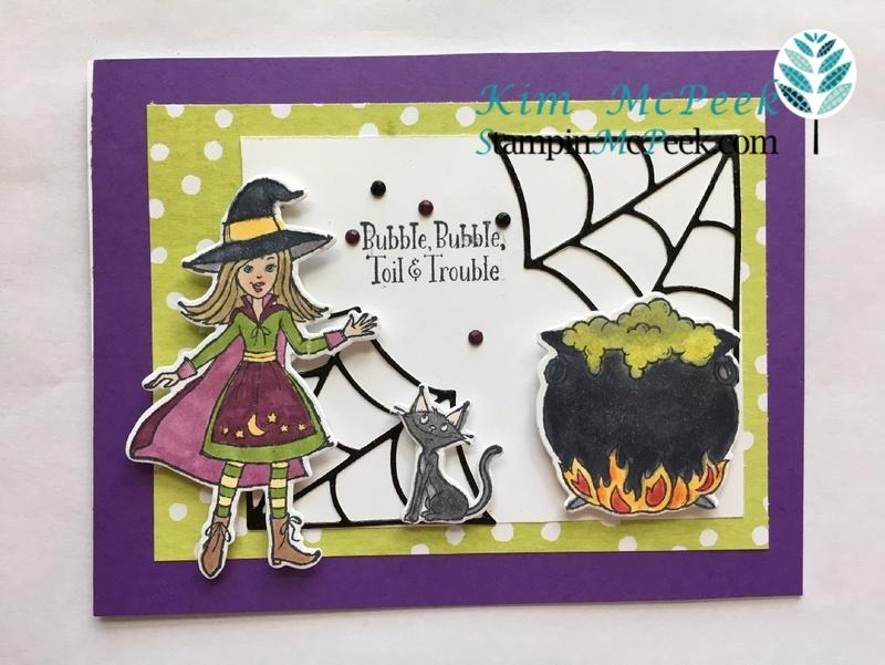 Cauldron card front
