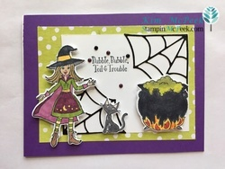 Cauldron card front